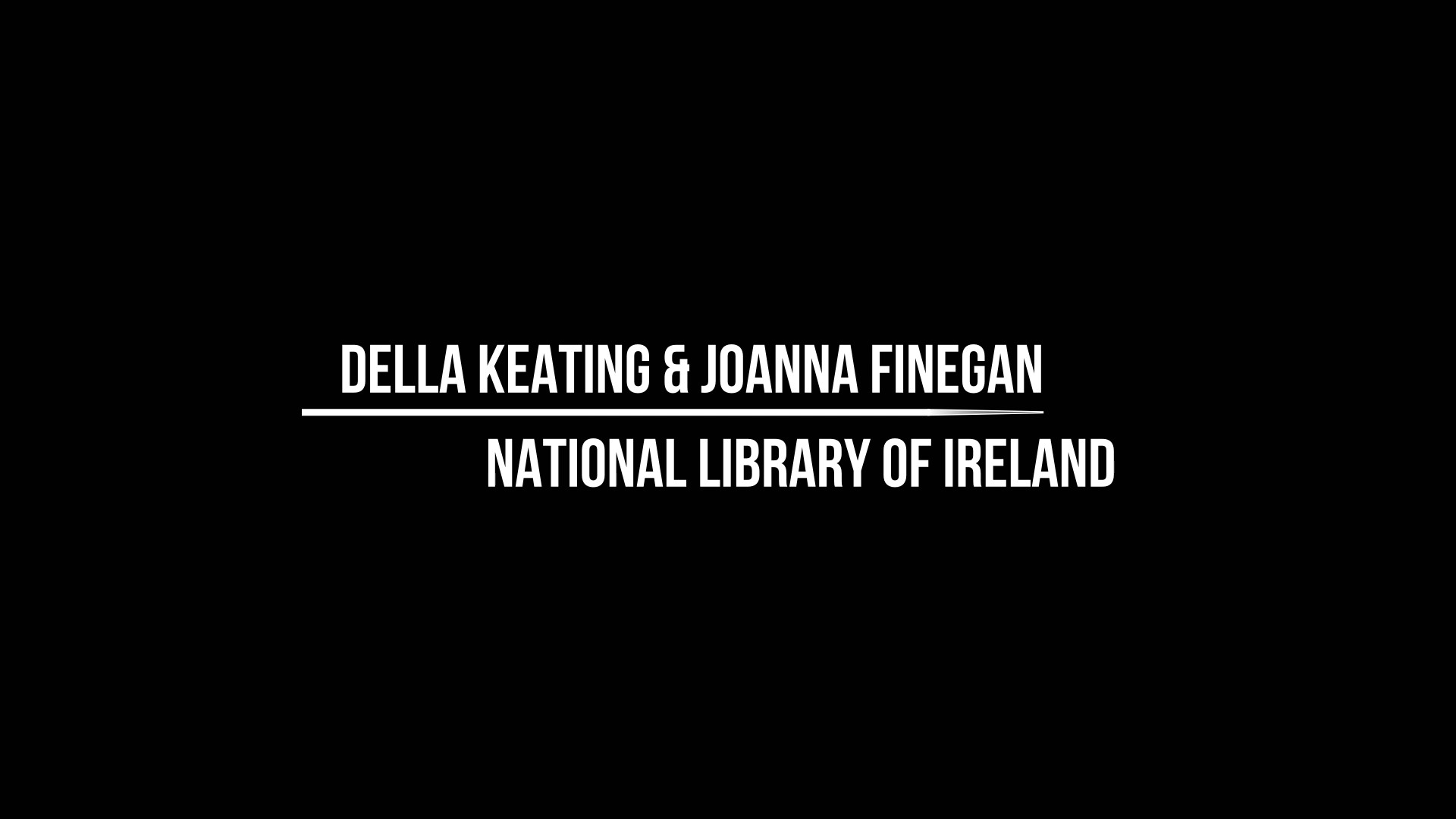Workshop 1 – Della Keating & Joanna Finegan – Web archives & access: an Irish Perspective