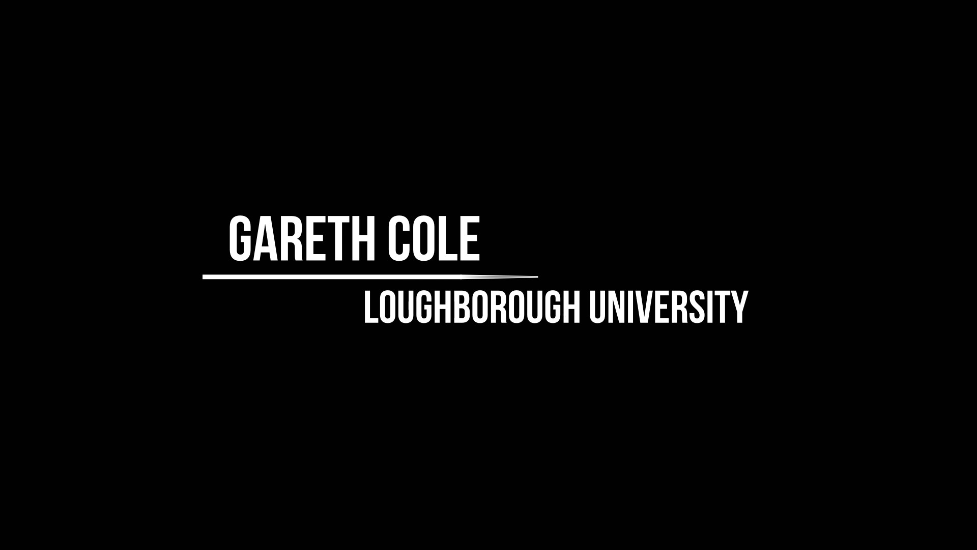 Workshop 1 – Gareth Cole – Research data & the challenges of accessibility & openness