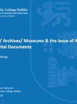Workshop 1 – Brendan Power – Libraries/ Archives/ Museums & the Issue of Access to Born-Digital Documents profile photo